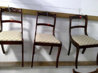 Three Matching Chairs