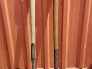 Pair Of Solid Pitch Forks