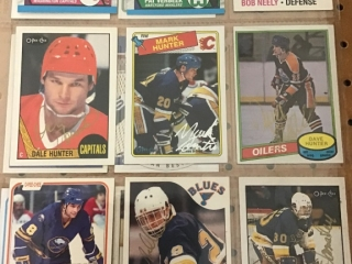 Misc 80s Hockey Cards