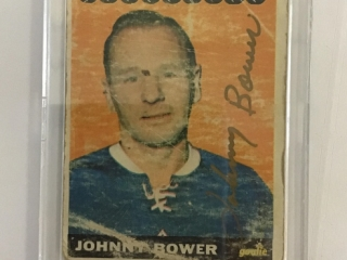 65 Johnny Bower Card