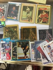 Patrick Roy rookie, linden rookie, lafontaine