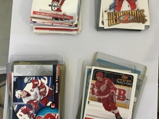 Various Red Wings Cards