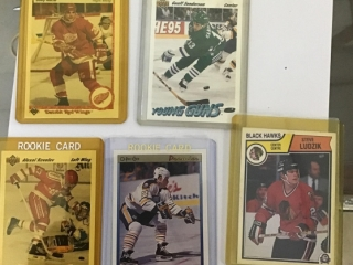 Misc Hockey Cards. Rookie Cards : Sanderson,