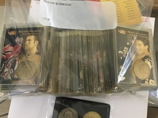 Pinnacle 97 Coin Collection Hockey Cards Limited