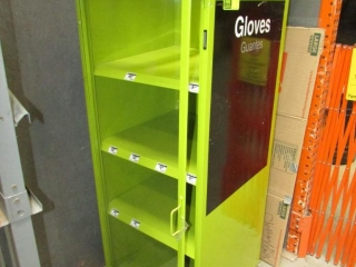 """24"""" x 24"""" x 70"""" gloves cabinet"""