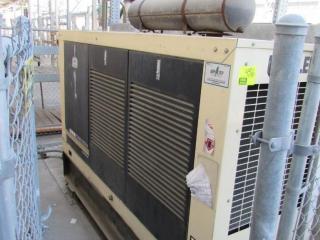 100kw Kohler 100REOZJ-QS (ser #0703908), '2001 diesel generator (65-gallon tank)
