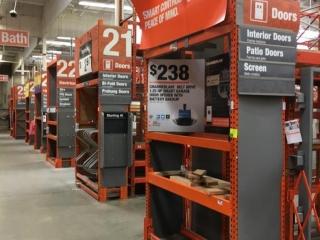 Assorted Interlake individual warehouse racking, 2' x 12'