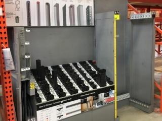 "99"" x 26"" x 103"" bar stock rack"