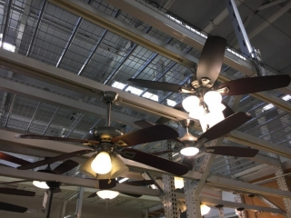 Assorted ceiling fans (Lower tier - Display)