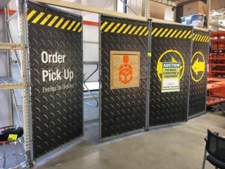 """50"""" x 96"""" cage doors"""