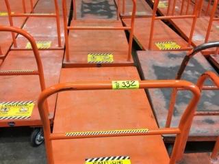 "30"" x 54"" large flatbed carts"