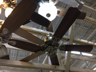 Assorted ceiling fans (Middle tier - Display)
