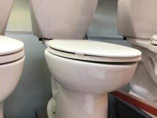 American Standard toilet display