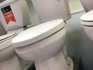 American Standard DF toilet display