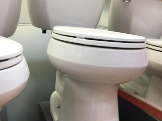 Kohler toilet display