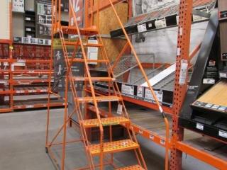Cotterman orange 9-step stock ladder