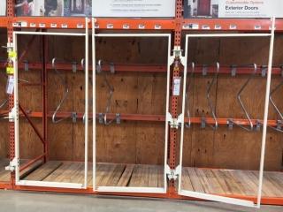 """40"""" x 84"""" door display swing out racks"""