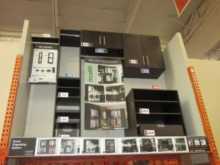 Modifi closet organizing system