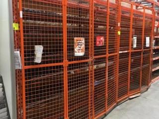"""50"""" x 96"""" bifold cage doors"""