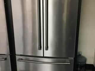 Maytag MFF2558FEZ01 stainless steel 2-door refrigerator with freezer drawer