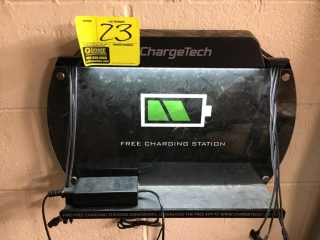 Charge Tech wall mounted charging station
