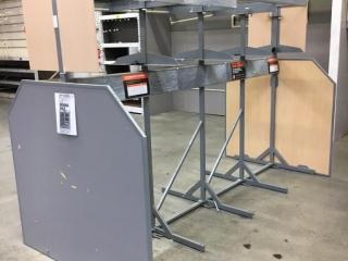 Appliance display racks
