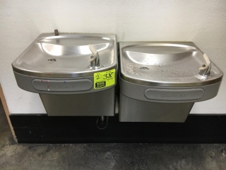 Elkay wall mounted water fountains