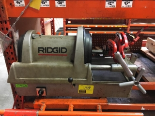 Ridgid 1822-1 pipe threader with 93) replacement packs