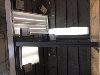 Assorted LED light fixtures