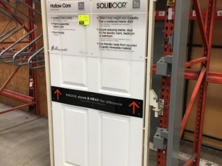 """Assorted display doors with 40"""" x 83"""" swing out rack"""
