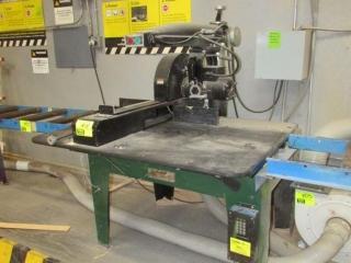 The Original Saw Company radial arm saw
