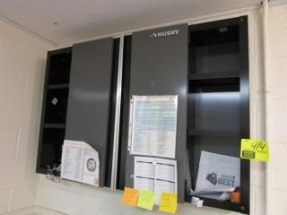 "48"" x 8"" x 32"" Husky wall cabinet"