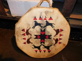 HAND CRAFTED DRUM
