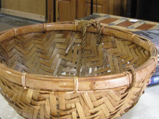 Hanging Reed Basket
