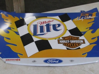 Miller Lite Metal Sign