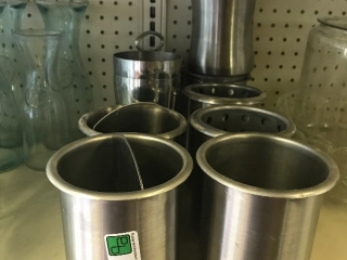 Misc stainless containers