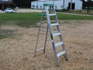 6' Louisville Aluminum Step Ladder