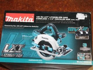 "(1) Makita 18V X2 LXT Lithium-Ion (36V) Cordless 7-1/4"" Battery Powered Circular Saw (Tool Only)"