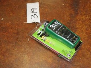 (1) 600V Manual Ranging Multimeter Model DM-45 (Battery Included)