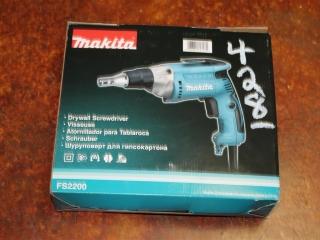 (1) Makita Drywall Screwdriver Model FS2200