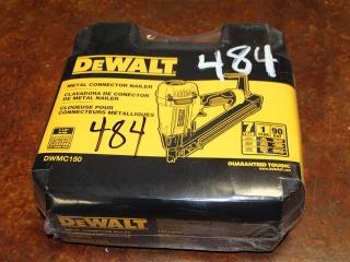 (1) DeWalt Metal Connector Nailer Model DWMC150