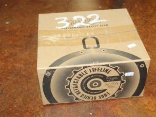 (1) Guardian Edge Series Retractable Lifeline w/ 30' Galvanized Cable