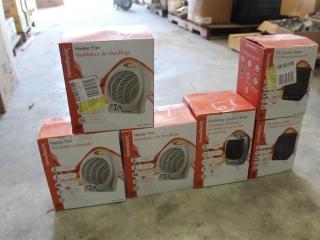 (6) Assortment of Homebasix Heaters