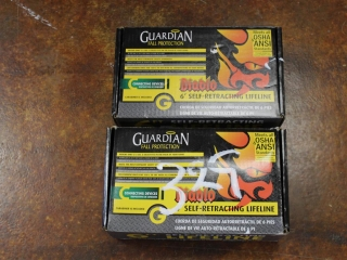 (1) Guardian Double Diablo 6ft. Self-Retracting Lifeline Kit