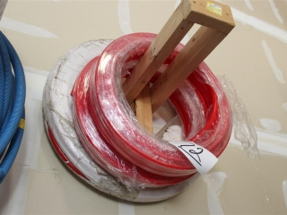 Lot of ¾ and ½  Red Uponor approx 300ft.