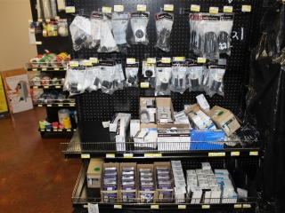 Lot of Misc Electrical Outlets & Misc Electrical Plugs  (Contents of Shelf)