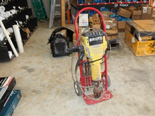 Bosch Brute jack hammer w/ dolly