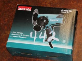 (1) Makita Disc Sander Model GV5010