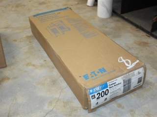 200 AMP Eaton 4 Space 8 Circuit Outdoor Main Breaker