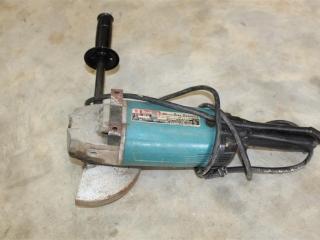 Makita Elect. 18Mm Disc Grinder Model# 9607BL